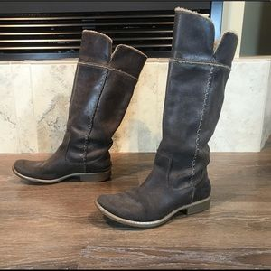 Vintage Timberland Leather Boots, Size 6.5